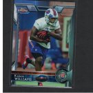 KARLOS WILLIAMS 2015 Topps Chrome Rookie RC - Seminoles & Buffalo Bills
