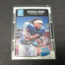 DERRICK HENRY 2016 Donruss Optic Rated Rookie RC - Tennessee Titans & Crimson Tide