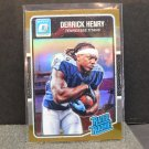 DERRICK HENRY 2016 Donruss Optic Rated Rookie Bronze Refractor RC - Tennessee Titans & Crimson Tide