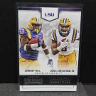 ODELL BECKHAM & JEREMY HILL 2016 Panini Contenders Collegiate Connection - LSU Tigers