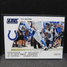 TY T.Y. HILTON 2016 Score Toe the Line - Colts & Florida International