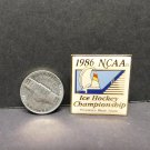 1986 NCAA Frozen Four College Hockey TOURNAMENT PIN - Harvard,Minnesota,Spartans