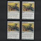 SCRABBLING CLAWS x4 - Magic the Gathering - MtG Mirrodin Playset of Four - Common Never Played