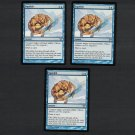 SQUELCH x3 - Magic the Gathering - MtG Champions of Kamigawa Playset - Uncommon Never Played