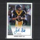 JARED GOFF 2016 Leaf Draft Ultimate Autograph Rookie #/25 RC - Cal Bears & LA Rams