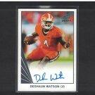 DeSHAUN WATSON 2017 Leaf Draft Ultimate Autograph Rookie RC - Clemson Tigers & Houston Texans