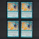 SYNCOPATE x4 - Magic the Gathering - MtG Odyssey Playset of Four - Common Unplayed