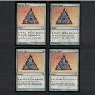 AZORIUS SIGNET x4 - Artifact Magic the Gathering - MtG Dissension Playset of Four - Common Unplayed