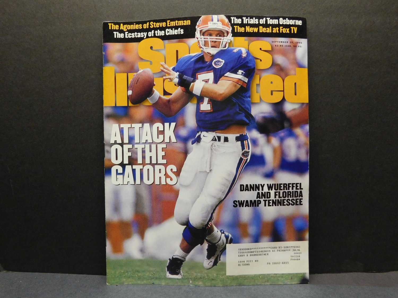 1995 Sports Illustrated - DANNY WUERFFEL - Florida Gators