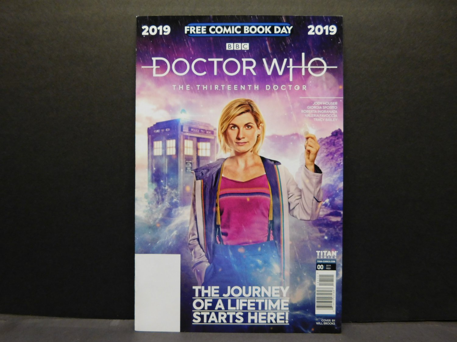 DOCTOR WHO 13th Doctor - FCBD Titan Comics 2019 - Not Stamped
