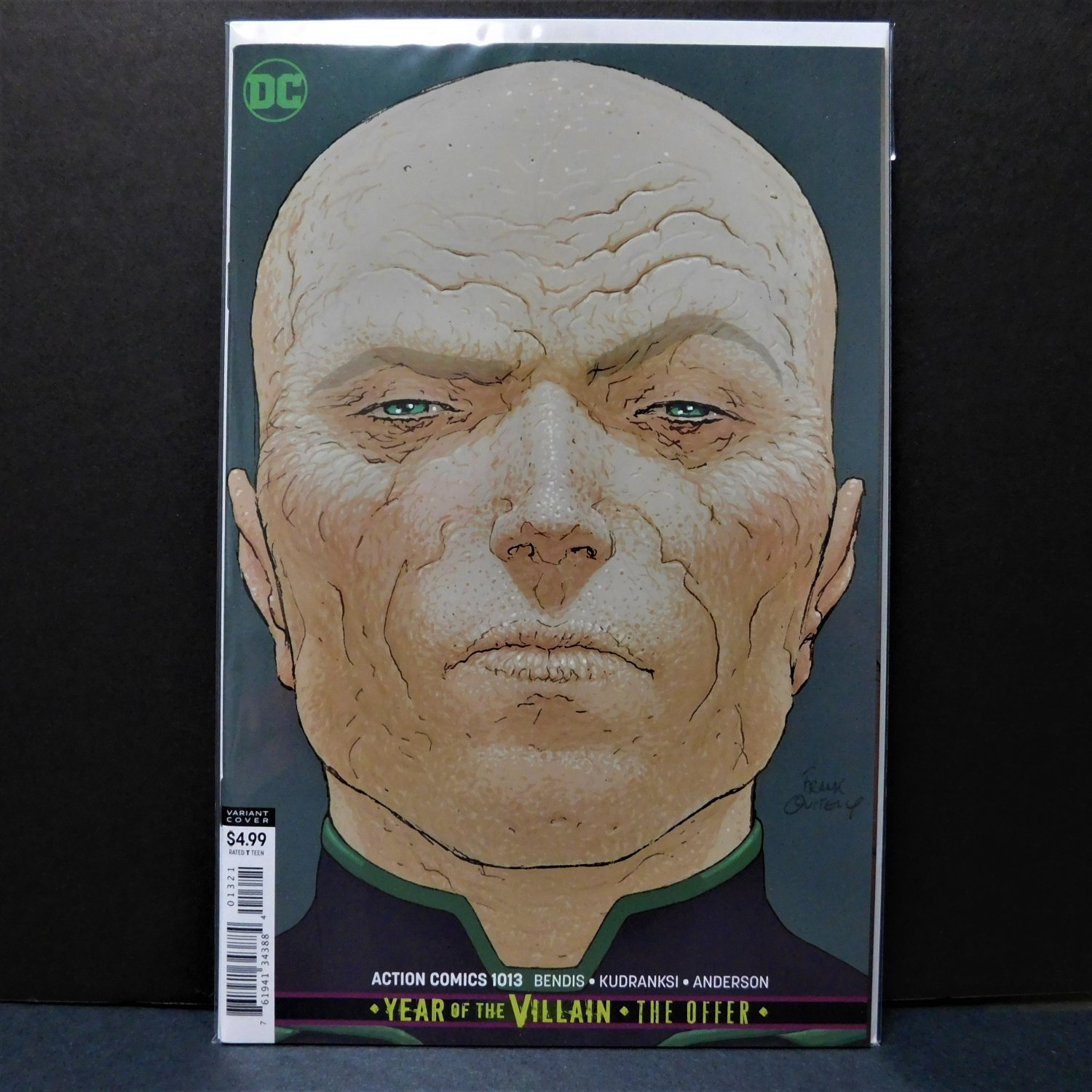 Superman ACTION COMICS Comic Book #1013 - DC Comics Year of the Villain - Quitely Variant Cover B