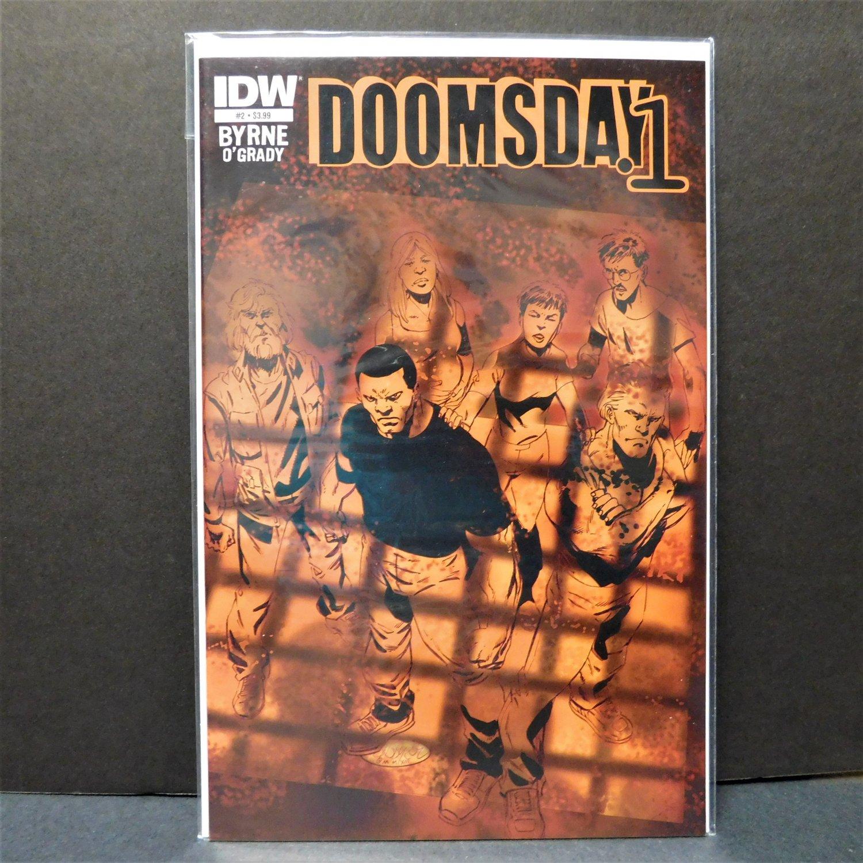 DOOMSDAY.1 #2 IDW Comics - John Byrne