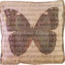 Verde Butterfly Accent Box Pillow