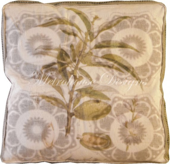 Fig Accent Box Pillow