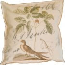 Brown Bird Pie Box Pillow