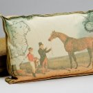 Equestrian Box Pillow