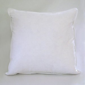 20 x 20 high quality feather down pillow inserts. Black Bedroom Furniture Sets. Home Design Ideas