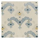 MARTYN LAWRENCE BULLARD FOR SCHUMACHER. RAJA EMBROIDERY STONE IKAT FABRIC