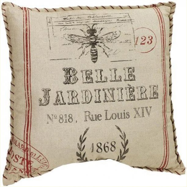 Distressed farmhouse Large Pillow
