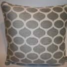 Hand Soft Chenille Ikat Accent Pillow