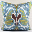 Venus Silk Cotton Ikat Pillow