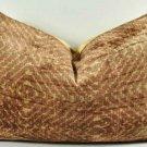 Silk Velvet Shibori Style Pillow