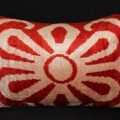 Sparta Silk Velvet Accent Pillow