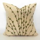 Highland Court Silk & Velvet Boucle Accent Pillow