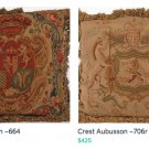 Upscale Aubusson Pillows ~A