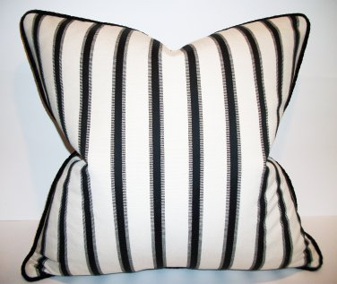 HAMPTONS STRIPE DESIGNER ACCENT PILLOW