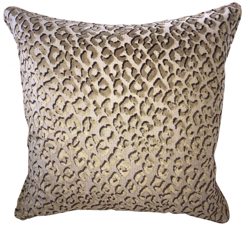 Pindler Pounce Belgium Cut Velvet Pillow