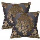 Pair Of Robert Allen Royal Beauty Slate Pillows