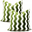 Pair of Schumacher Velvet Pillows ~ Set Of 2