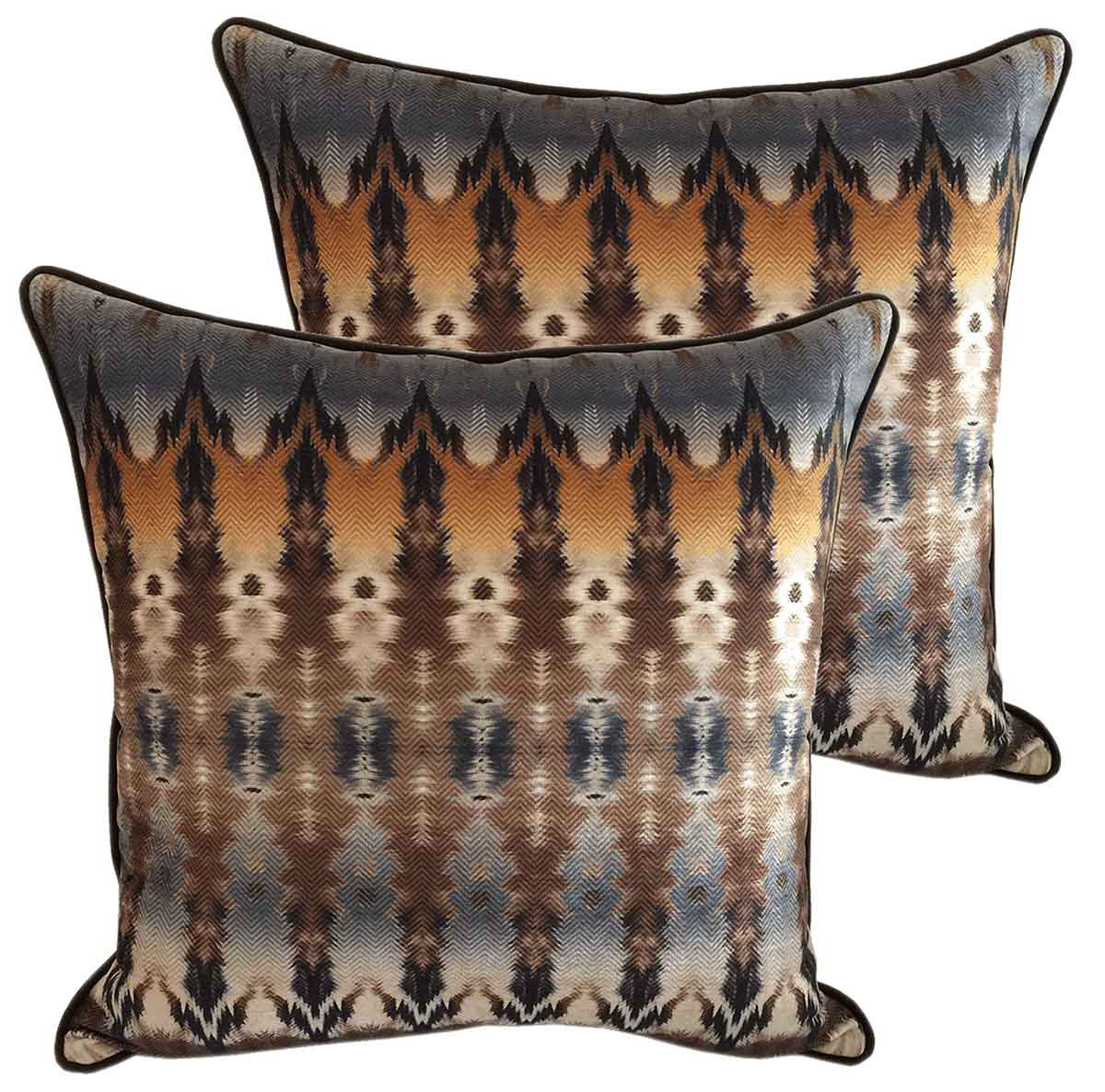 Boho Chic Pillows - Set Of 2
