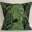 Cayman Palm Leaves Down Feather Accent Pillow
