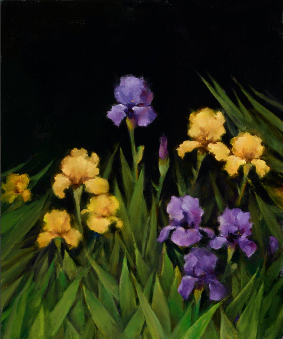 The Iris Garden by Iris Kelmenson