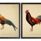 Farmhouse Roosters - Set Of 2