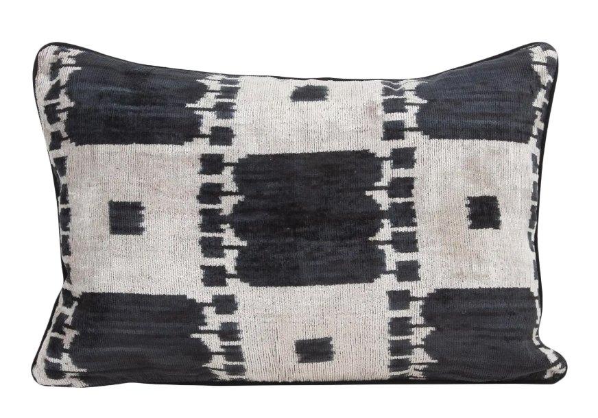 Silk Velvet Accent Pillow