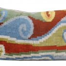 Silk Velvet Lumbar Pillow