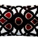 Pallazo Silk Velvet Lumbar Pillow