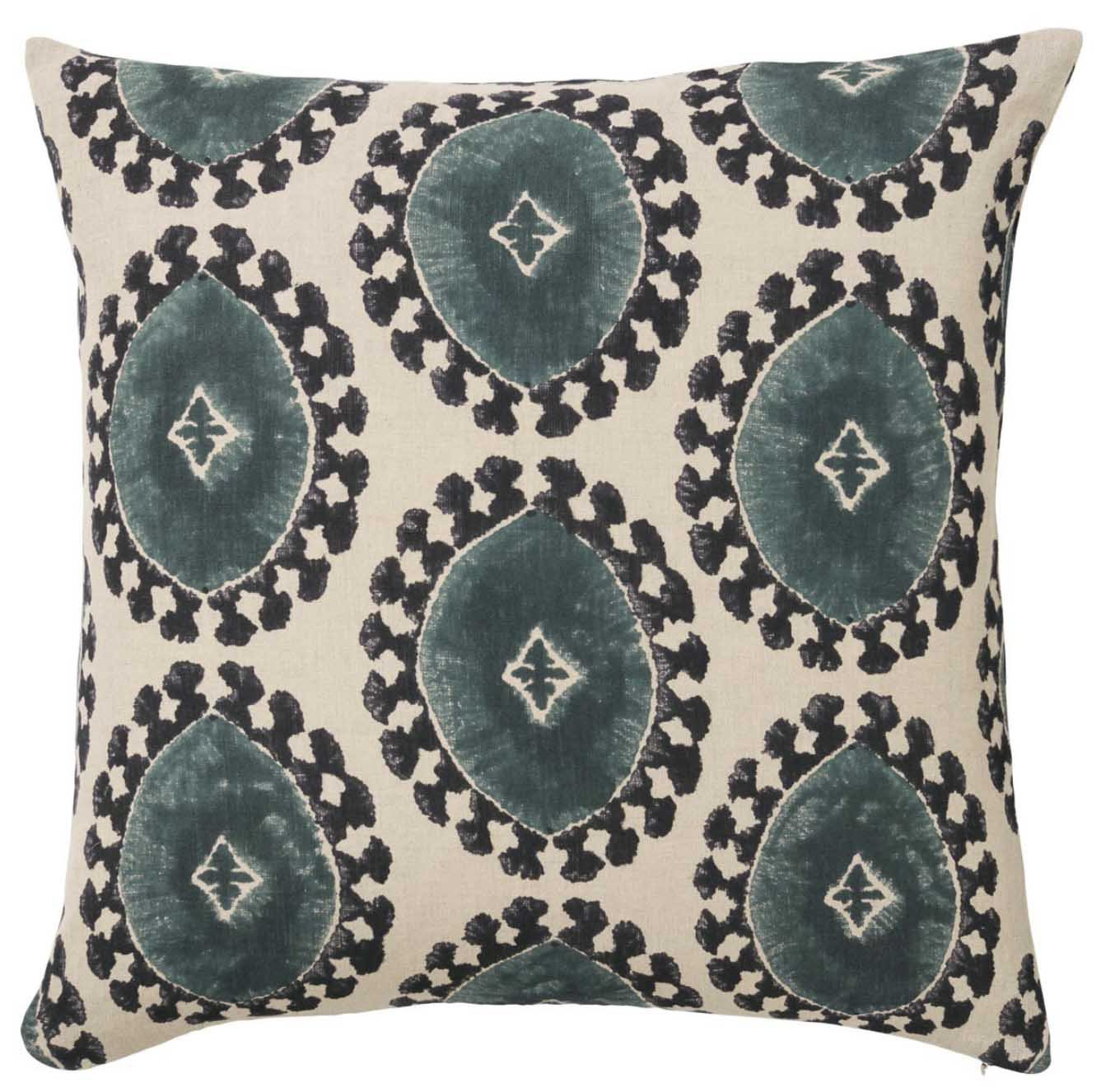 Vernazza Ikat Down Feather Pillow