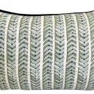 Bespoke Maine Cottage Textiles Down Feather Lumbar Pillow