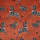 Velvet Zebras Textile