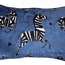 Sapphire Velvet Zebras