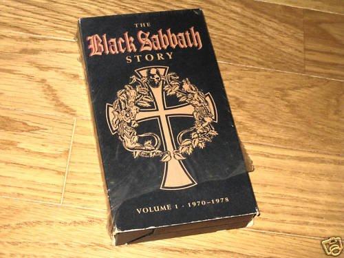 Black Sabbath Story Vol 1 1970-78 USA VHS Ozzy Osbourne