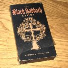 Black Sabbath Story Vol 1 1970-78 USA VHS Ozzy Osbourne