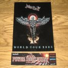 JUDAS PRIEST 2005 JAPAN TOUR Book + PROMO STICKERS