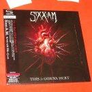SIXX:A.M. THIS is GONNA HURT NEW 2011 JAPAN 1st MINI LP SHM-CD+BONUS Motley Crue