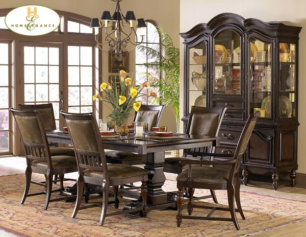 #1380-118 Frontier Dinning Table set