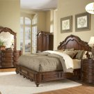#1390LPK Prenzo Panel bedroom 4pc set